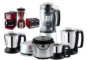 001 rice cooker, blender, juicer